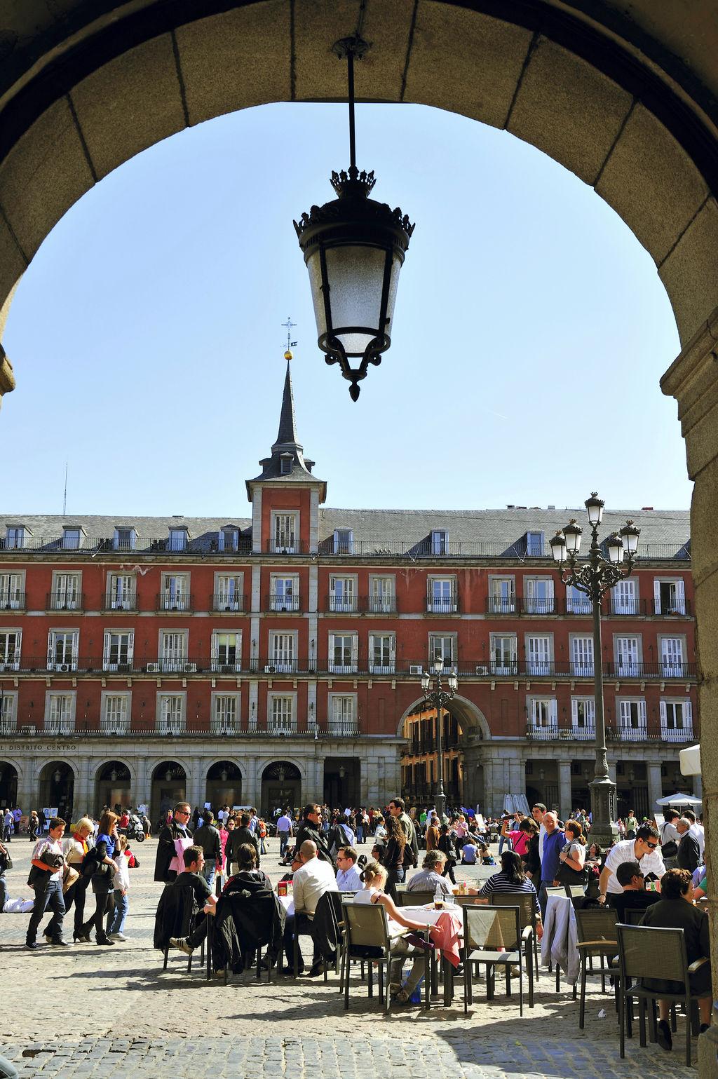 Espagne, Madrid, plaza Mayor